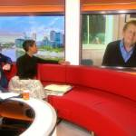 Bill Turnbull says taking cannabis oil was 'an enjoyable experience' as he is reunited with BBC Breakfast colleagues Dan Walker and Naga Munchetty to describe his cancer fight